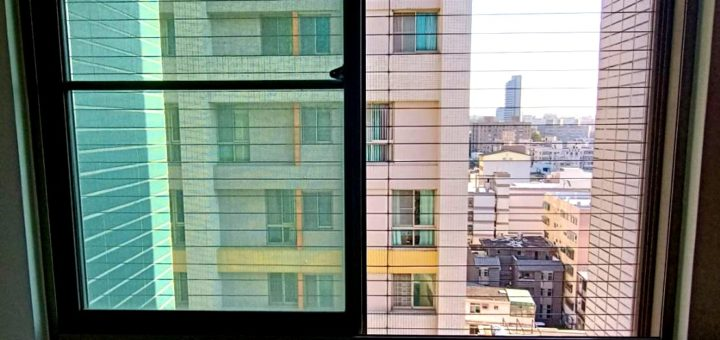 隱形鐵窗橫式安裝