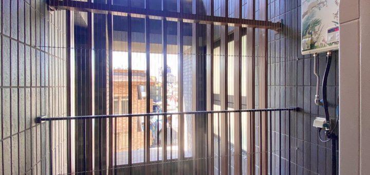 寵物防墜隱形鐵窗