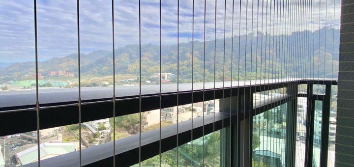 社區大樓防墜隱形鐵窗