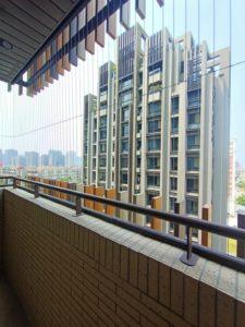 新北市宏璟榮華陽台防墜隱形鐵窗